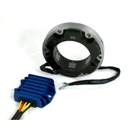 Lucas 10 Amp Single Phase Alternator Kit with Tri-Spark MOSFET Voltage Regulator